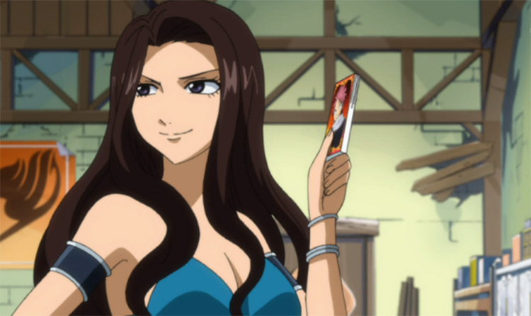 Cana Alberona from Fairy Tail anime