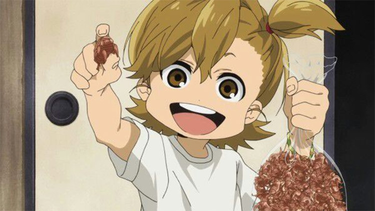 Naru Kotoishi Barakamon anime screenshot