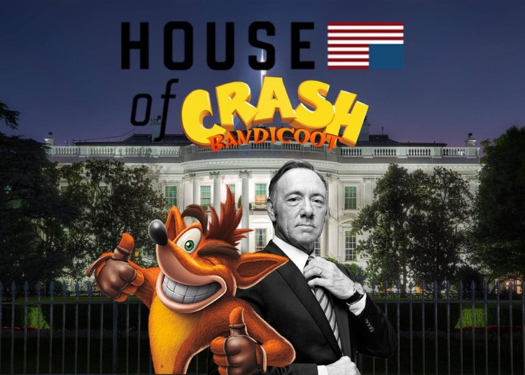 House of Crash Bandicoot crossover meme