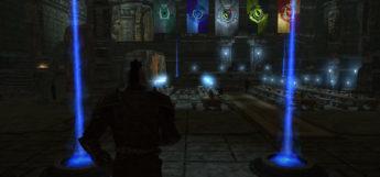 Hogwarts School interior modded - Skyrim dark screenshot