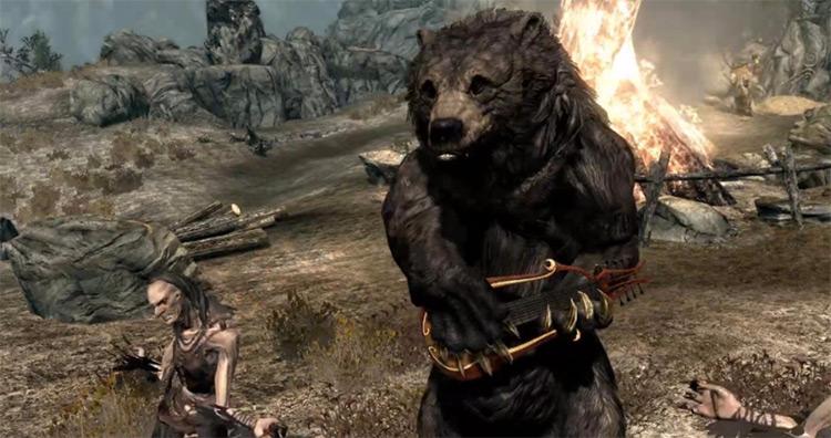 Musician Bears in Skyrim