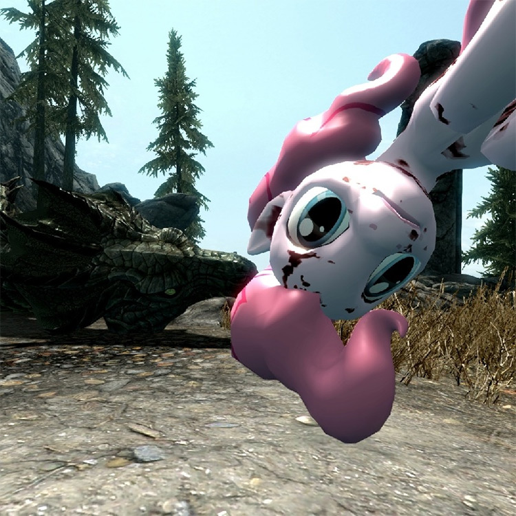Little Pony Weapons mod for Skyrim