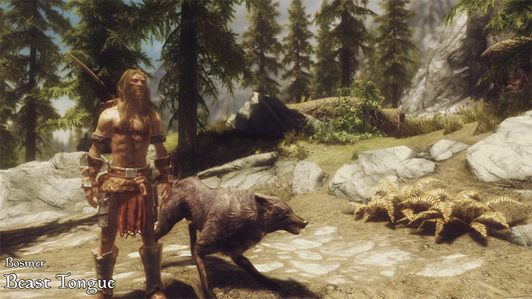 Imperious – Races of Skyrim mod