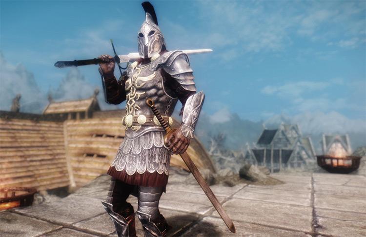 Immersive Weapons - custom skyrim mod