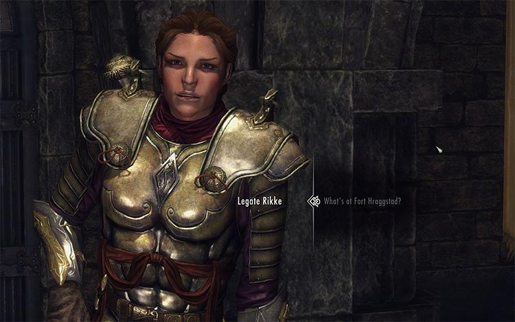 Perfect Legionnaire Skyrim mod