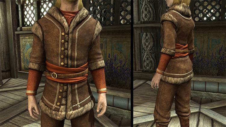 Colovian Fur Armor Skyrim mod
