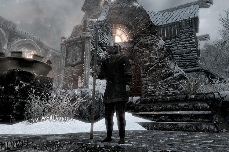 True Spear Combat mod