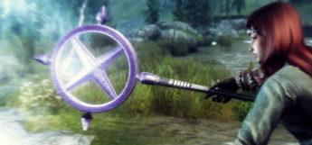 Ancient Staff mod - Skyrim screenshot