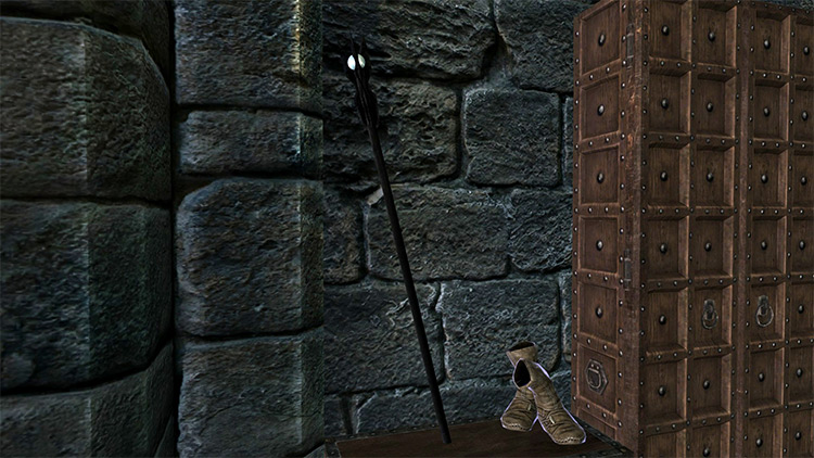 Saruman Staff for Skyrim - screenshot