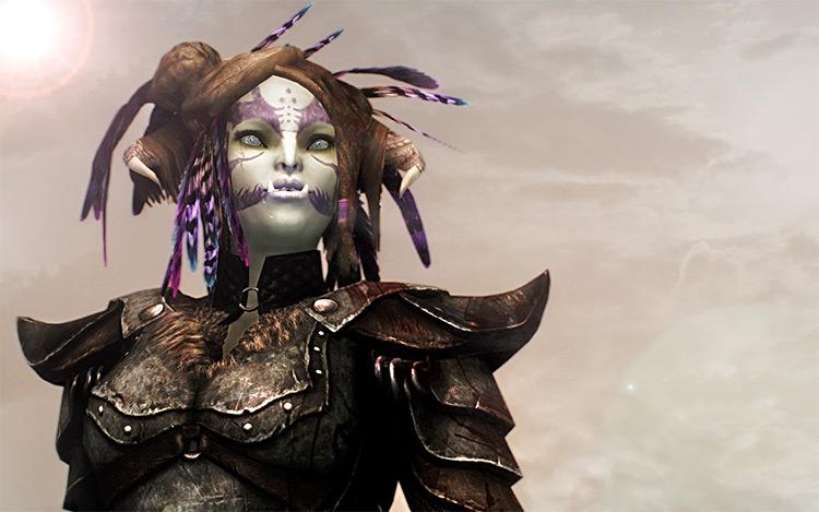 Amidianborn Orcish Armor - Skyrim mod