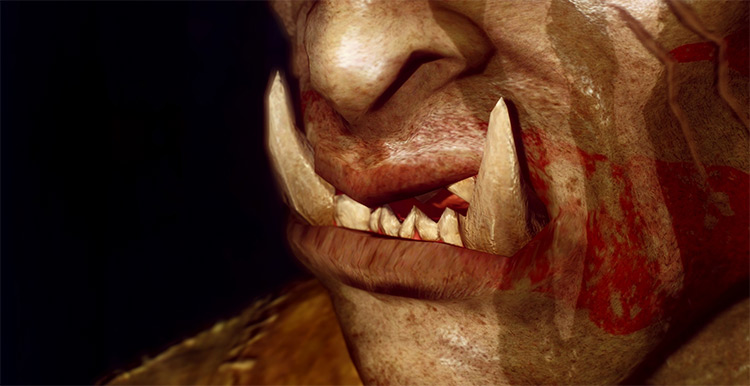 Better Orc Teeth Mod