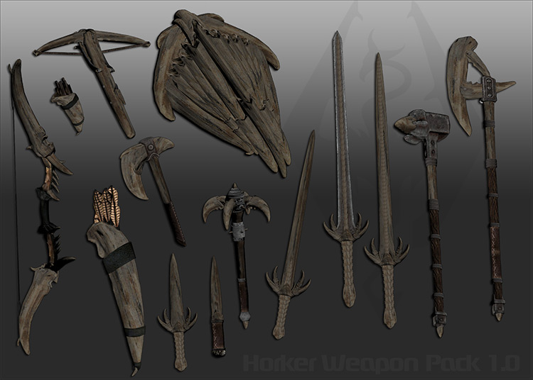 Ghosu Horker Weapon Pack