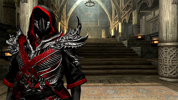 Daedric Mage Armor Mod for Skyrim