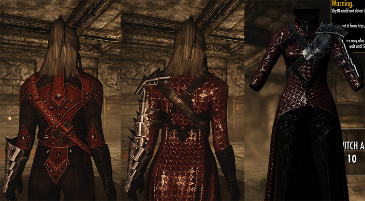 Blood Witch Armor - Skyrim mod