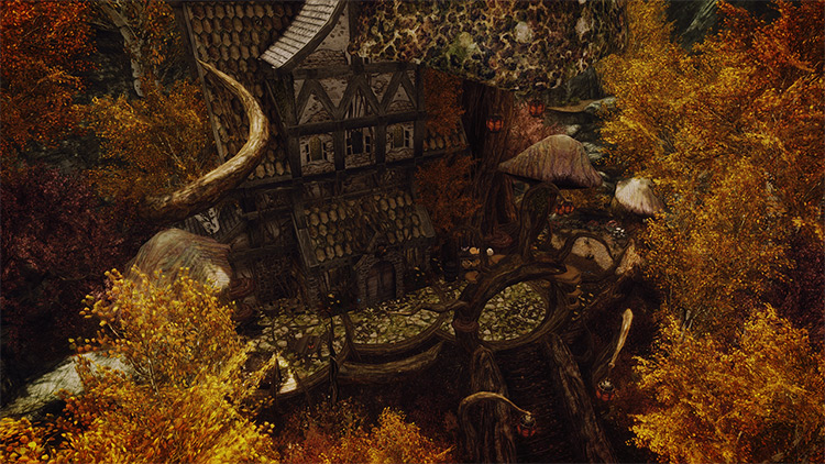 House for Witches and Druids - Skyrim Mod