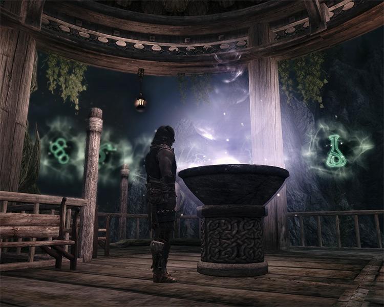 Druid's Den Skyrim Mod