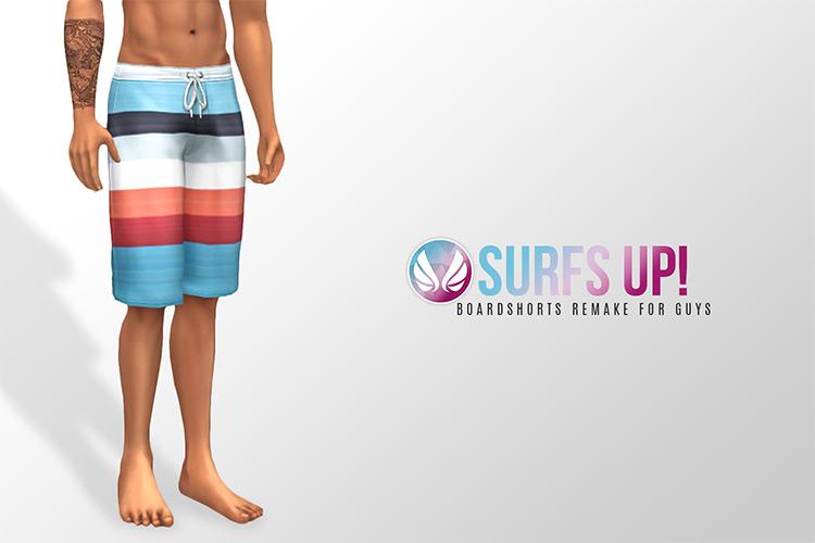Board Shorts For Swimming - Guys TS4 CC
