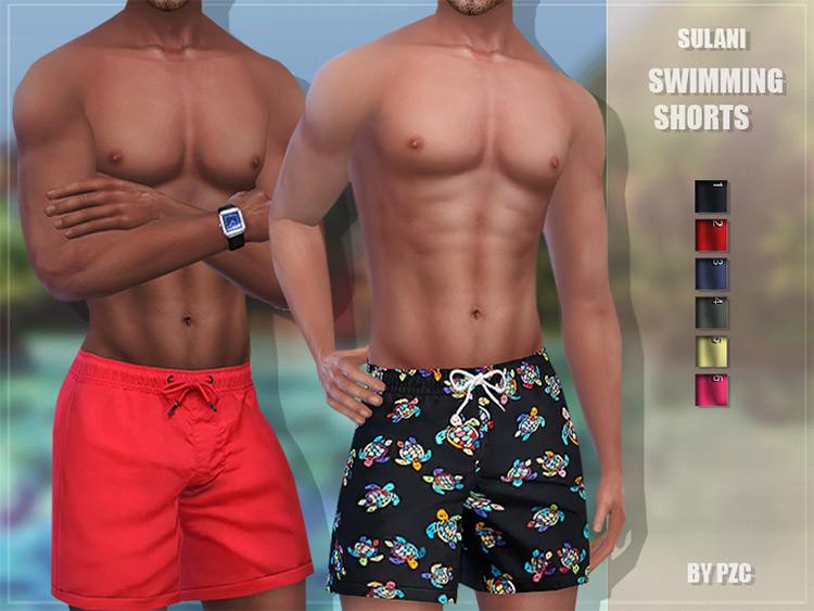 Sulani Swimming Shorts TS4 CC