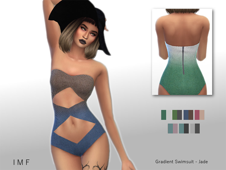 Gradient Swimsuit for TS4
