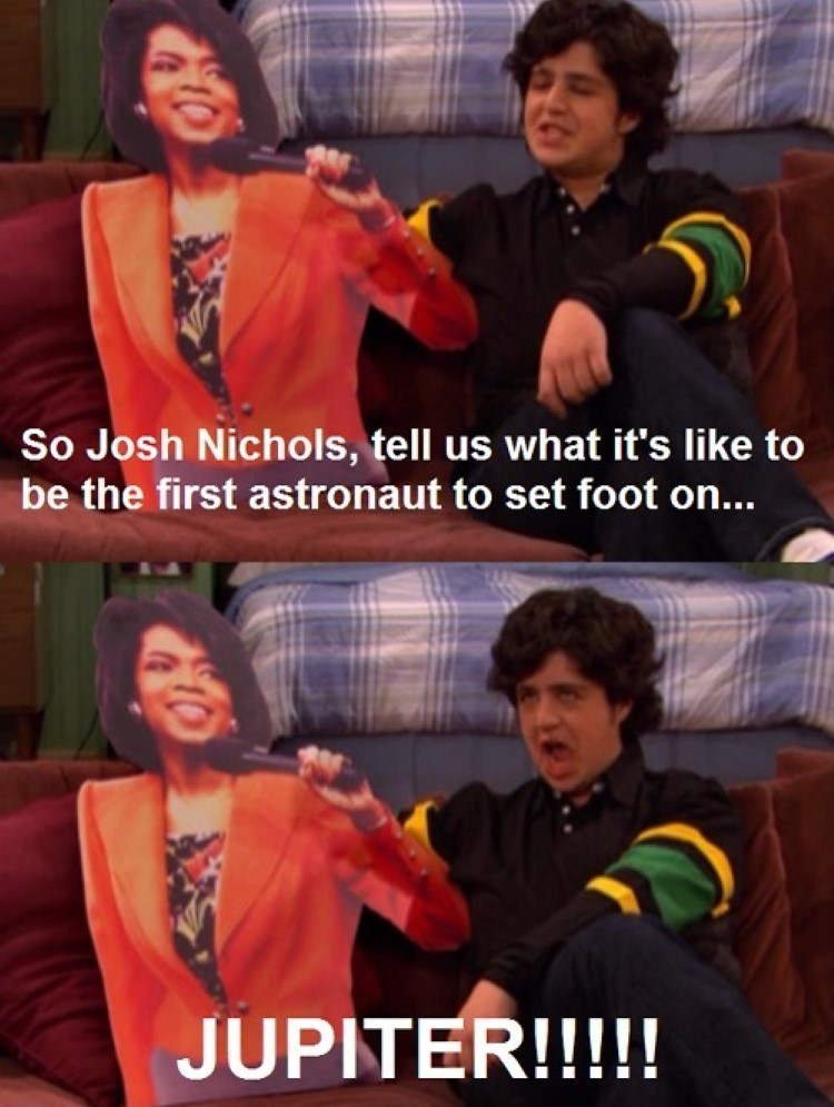 Josh and Oprah meme