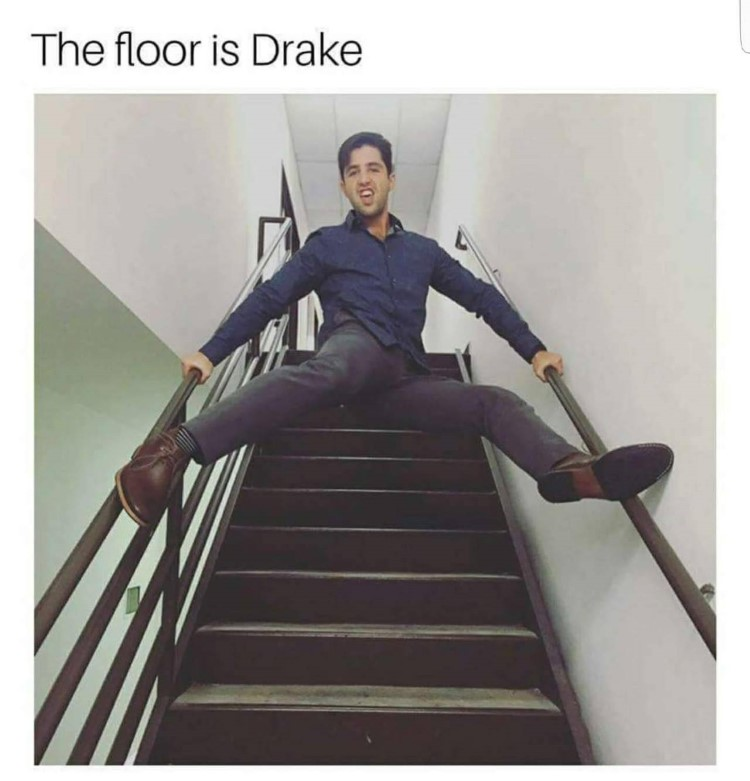 The floor is Drake meme - Josh Nichols