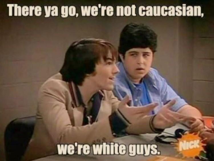 Drake: We're not caucasian, we're white guys