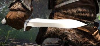 Leaf Dagger in Skyrim