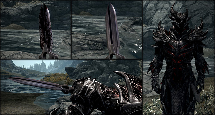 Darker Than Black Dagger in Skyrim