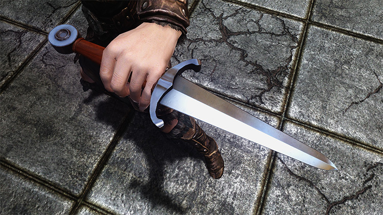 Cyrodiilic Steel Dagger for Skyrim