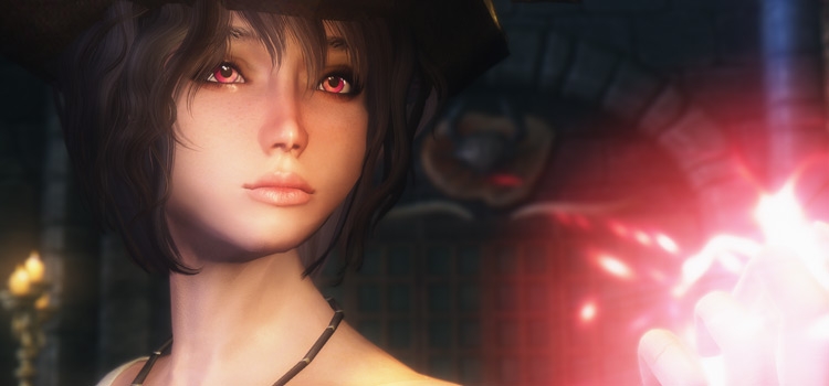 Cherry Eyes Mod - Anime-style eyes in Skyrim