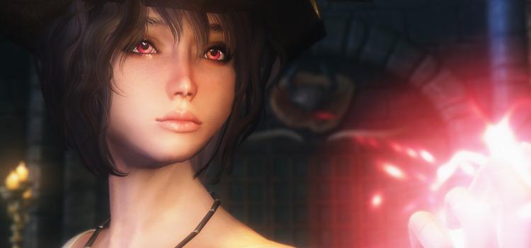 Cherry Eyes Mod - Anime-style eyes in Skyrim