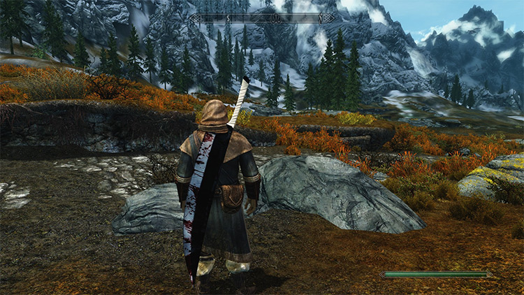 Zangetsu mod for Skyrim