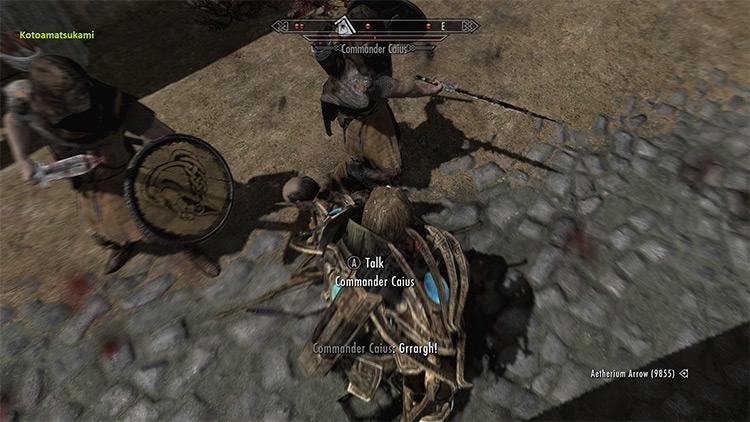 Sharingan Powers in Skyrim