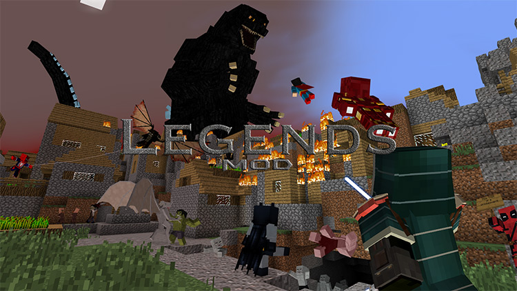 Legends Mod for Minecraft