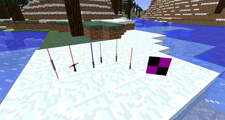 Kryptic's Star Wars Mod for Minecraft