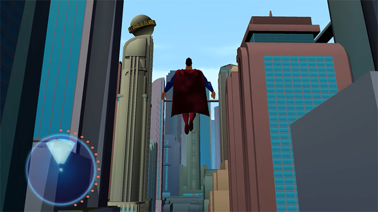 Superman: Shadow Of Apokolips (2002) gameplay