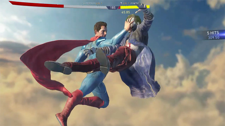 Injustice 2 (2017) gameplay