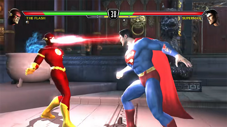 Mortal Kombat Vs. DC Universe (2008) gameplay