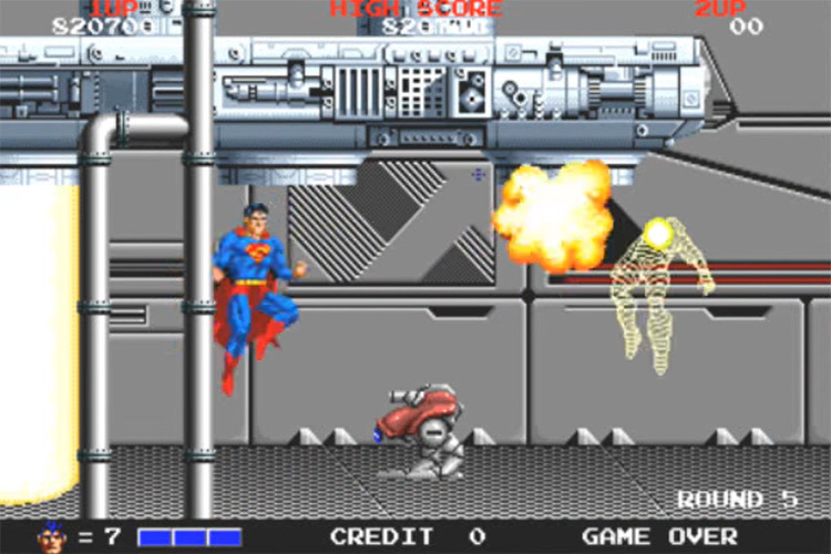 Superman (1988) game screenshot