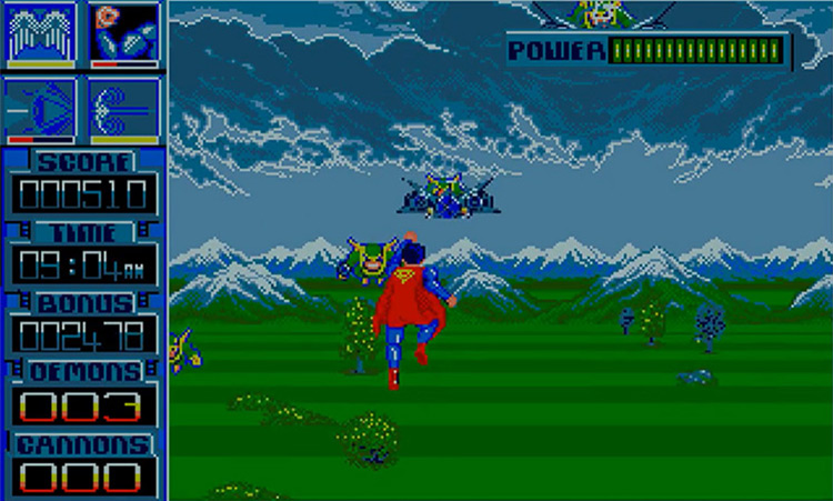 Superman: The Man Of Steel (1989) screenshot