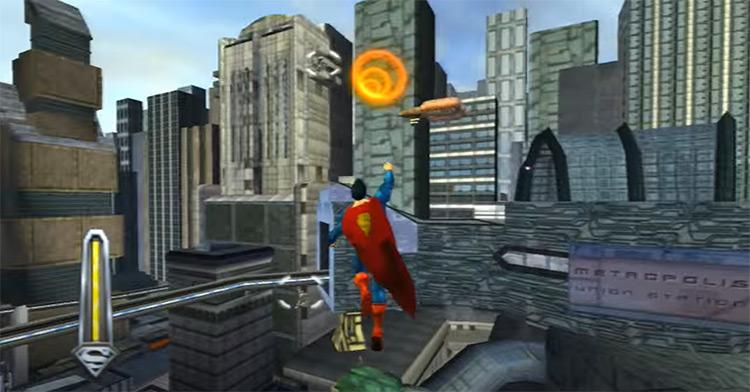 Superman: The Man Of Steel (2002) game screenshot