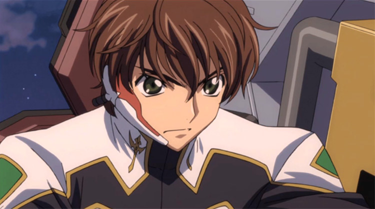 Suzaku from Code Geass anime