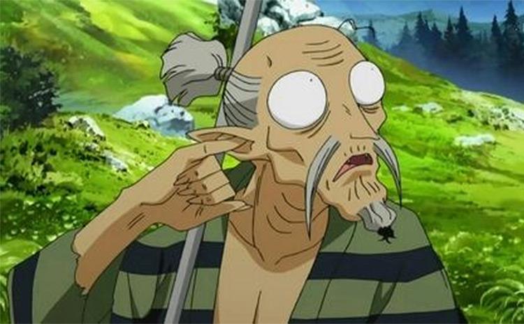 Tōtōsai InuYasha anime screenshot