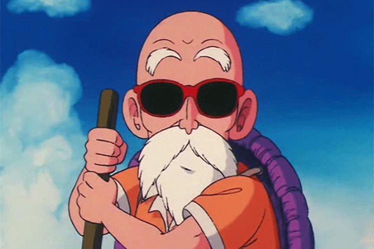 Muten-Roshi from Dragon Ball anime