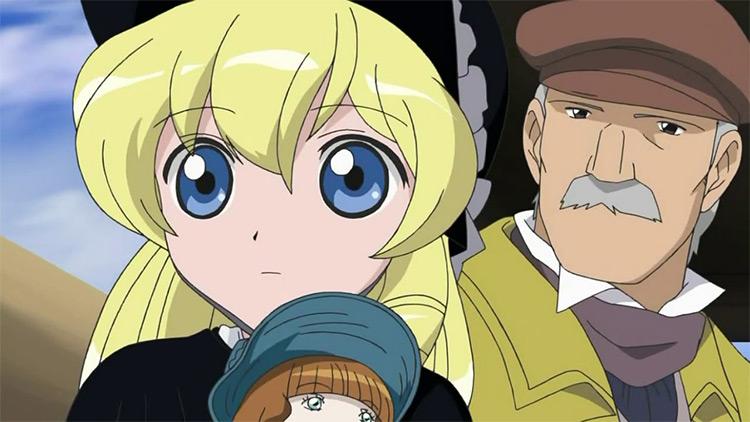 Les Misérables anime screenshot