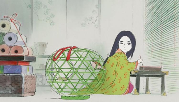The Tale of the Princess Kaguya anime