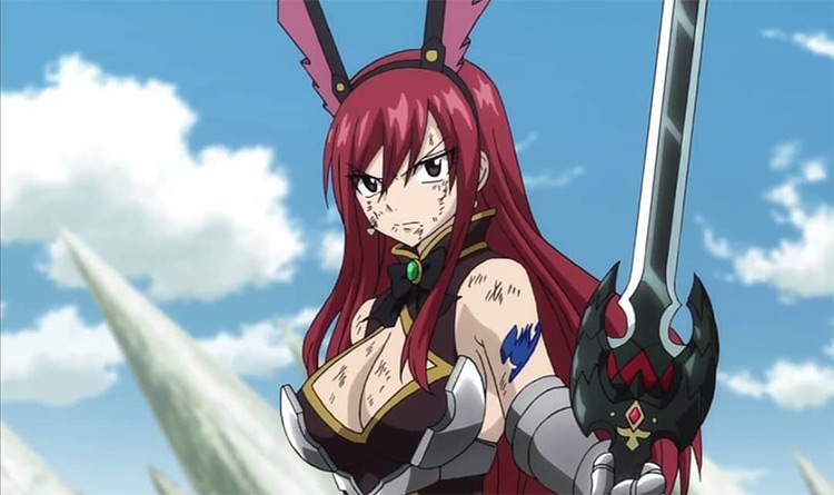 Erza Scarlet Fairy Tail anime screenshot