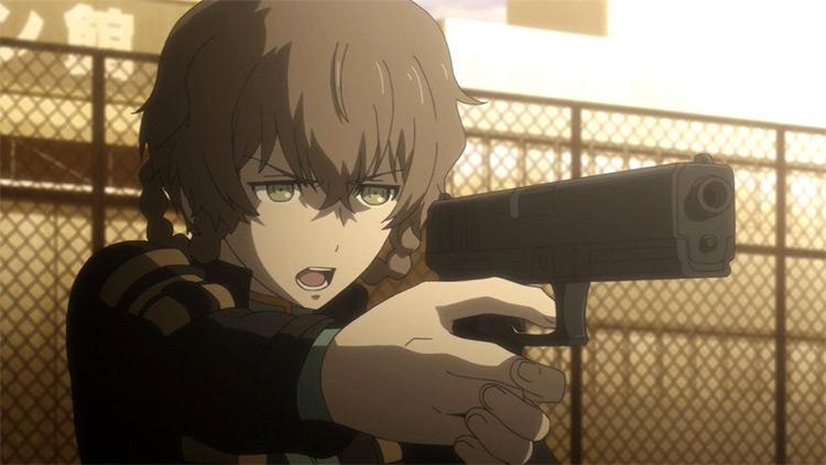 Suzuha Amane Steins;Gate anime screenshot