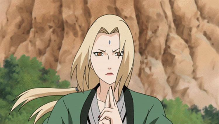 Tsunade Naruto Shippuden anime screenshot