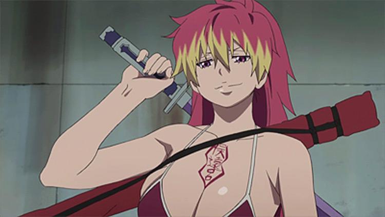 Shura Kirigakure Ao no Exorcist anime screenshot